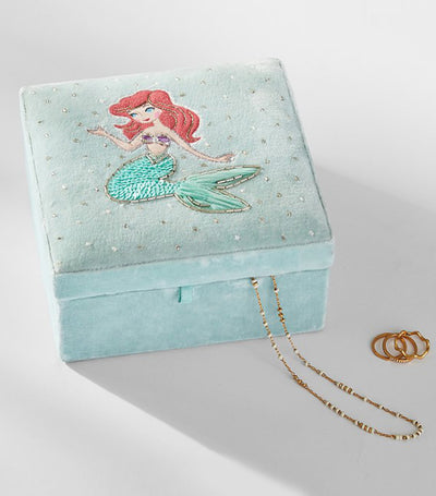 pottery barn kids disney princess jewelry box - ariel