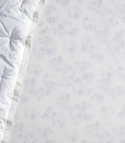 pottery barn kids monique lhuillier something blue baby bedding fitted crib sheet