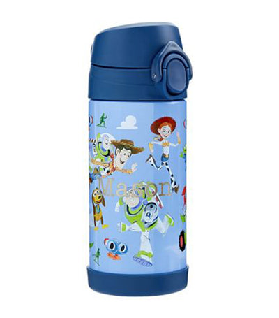 pottery barn kids mackenzie disney and pixar toy story water bottle