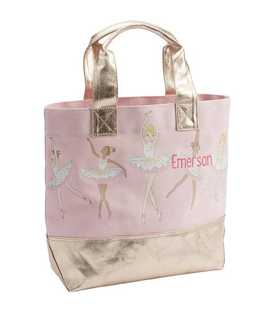 pottery barn kids romantic ballerina tote
