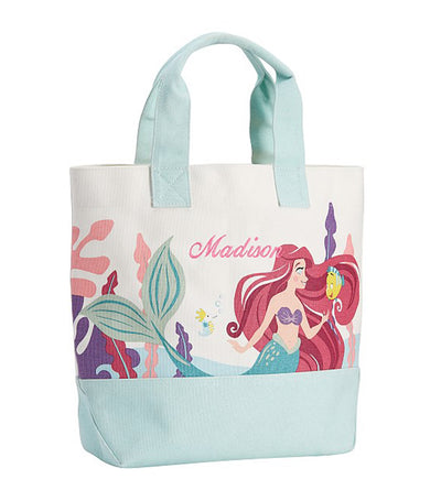 pottery barn kids disney princess ariel tote