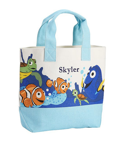 pottery barn kids disney and pixar finding nemo tote