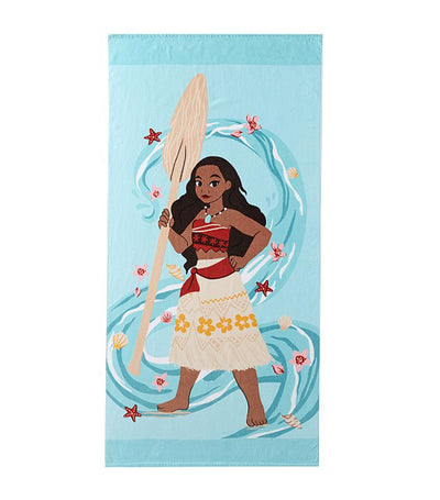 pottery barn kids disney moana kid beach towel