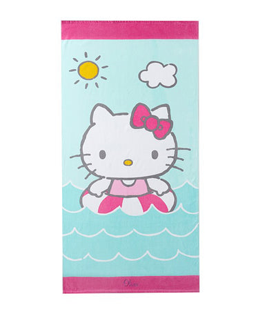 pottery barn kids hello kitty kid beach towel