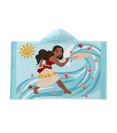 pottery barn kids disney moana kid beach hooded towel