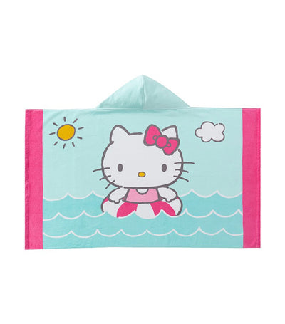 pottery barn kids hello kitty kid beach hooded towel