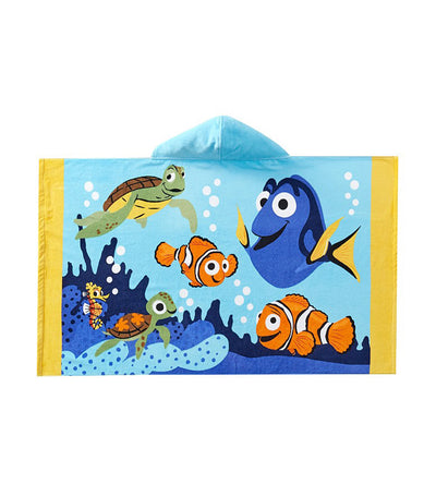 pottery barn kids disney and pixar finding nemo kid beach hooded towel