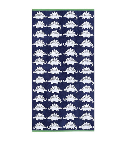 pottery barn kids dino bath towel collection - bath towel