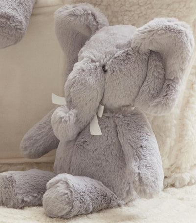 pottery barn kids elephant plush toy