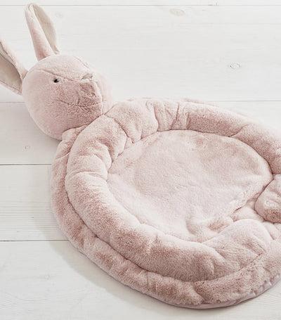 pottery barn kids blush bunny interactive playmat