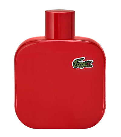 lacoste fragrances l 12.12 rouge eau de toilette 100ml