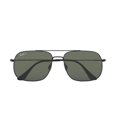 ray-ban andrea square sunglasses polarized green
