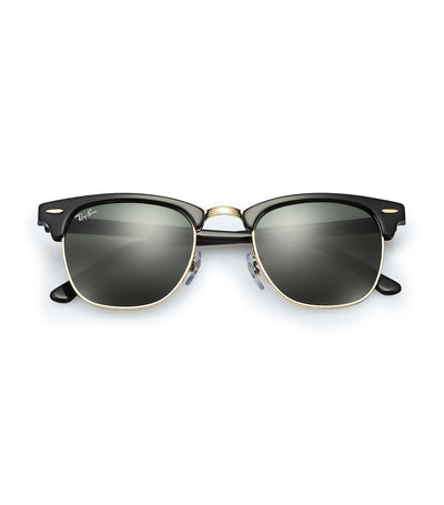 ray-ban clubmaster classic sunglasses 51 black