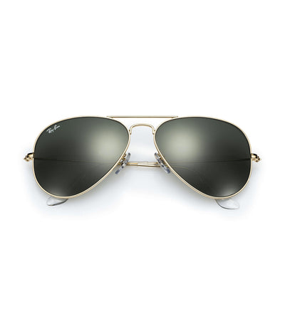 ray-ban aviator classic sunglasses 58 gold