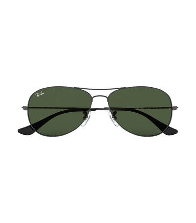 ray-ban cockpit sunglasses gunmetal