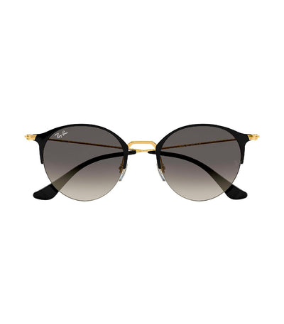 ray-ban highstreet gray gradient