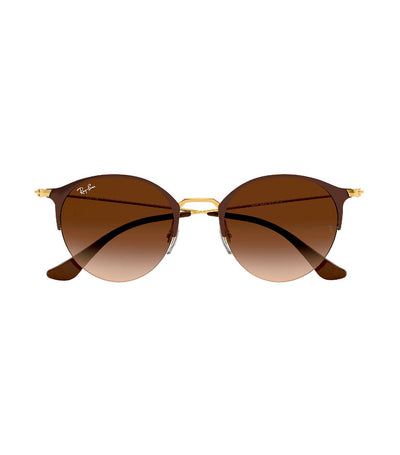 ray-ban highstreet brown gradient dark