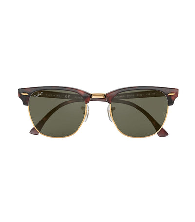 ray-ban clubmaster classic sunglasses green