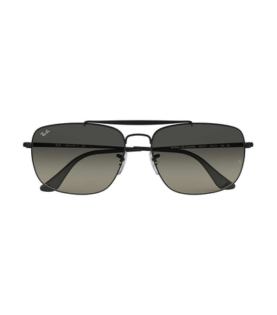 ray-ban the colonel sunglasses 61 gray gradient