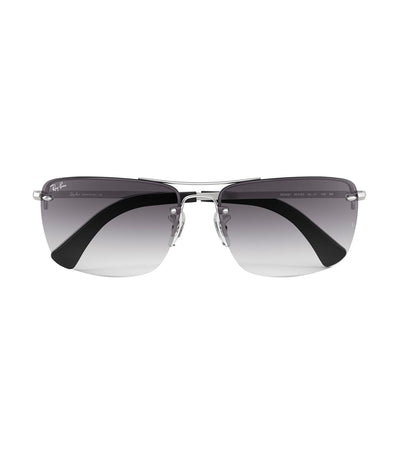 ray-ban highstreet caravan sunglasses gray