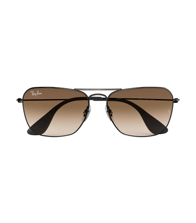 ray-ban youngster caravan sunglasses brown