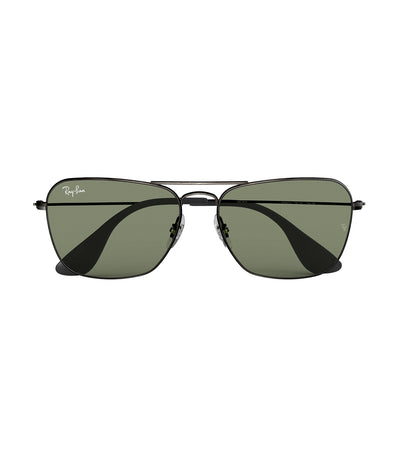 ray-ban youngster caravan sunglasses green