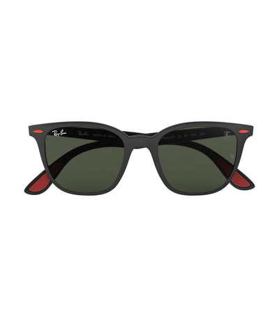 ray-ban ferrari liteforce sunglasses 51 green