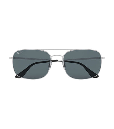 ray-ban highstreet metal sunglasses blue