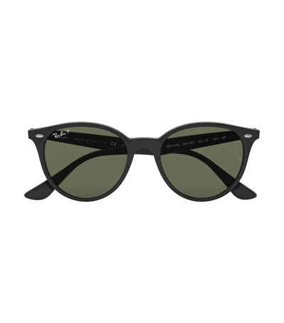 ray-ban highstreet phantos sunglasses polarized green
