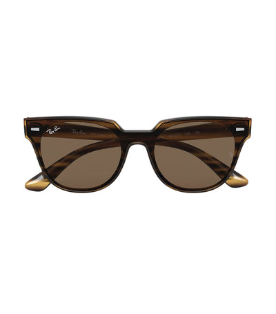 ray-ban blaze meteor sunglasses dark brown