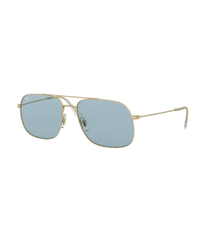 ray-ban andrea square sunglasses green