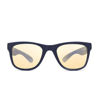 real shades matte navy blue anti-blue light surf screen shades