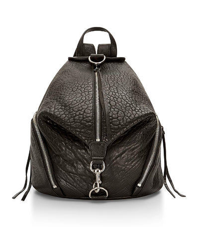rebecca minkoff julian leather backpack black