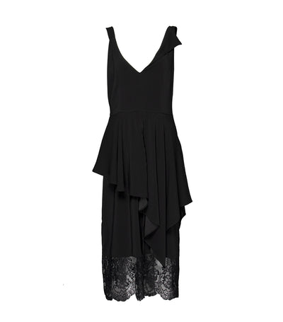 ricardo preto woman freya dress black