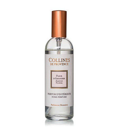 collines de provence almond flower room spray 100ml