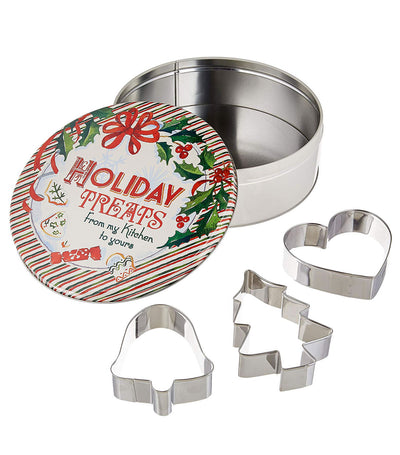Holiday Treats Cookie Cutter Set