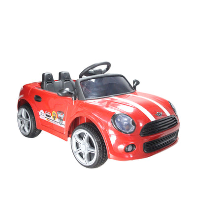 off-road red mid motorized mini car with eva tire