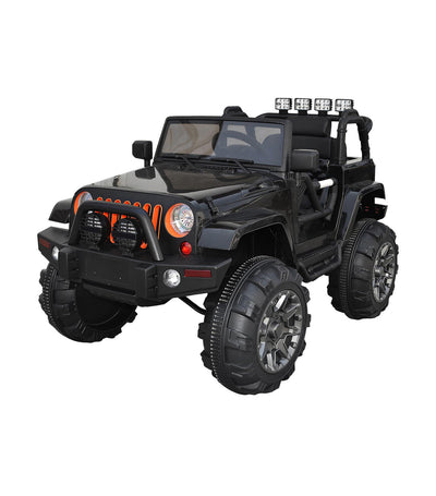 off-road black large motorized off road monster with eva tire