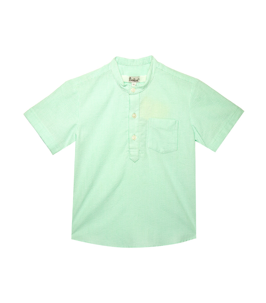 Short-Sleeved Polo - Green