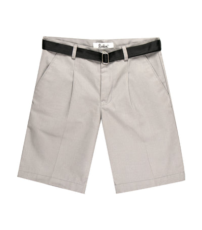 rustan jr. khaki shorts with belt