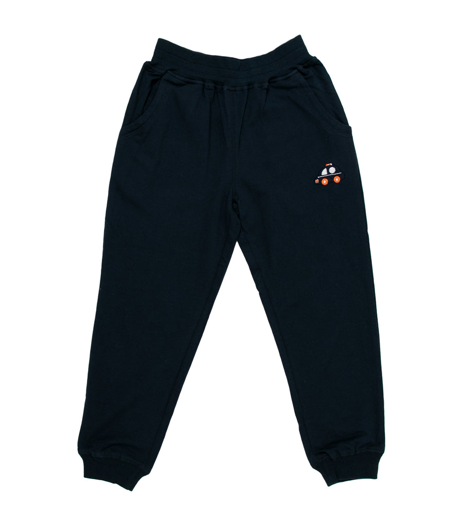 rustan jr. navy blue chico joggers