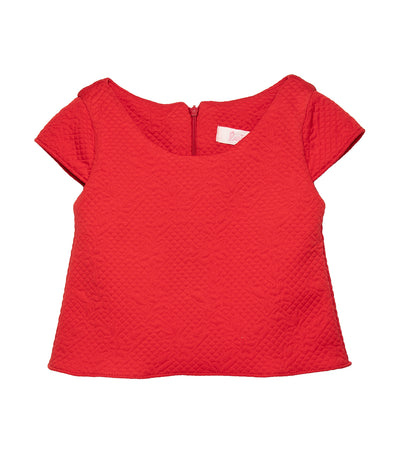 rustanette waffle top - red