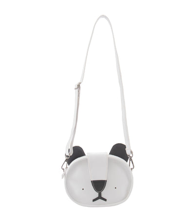 rustanette white koala crossbody bag