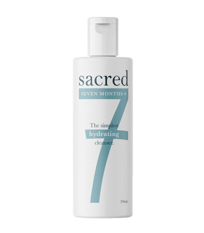 sacred 7 months plus cleanser 250ml