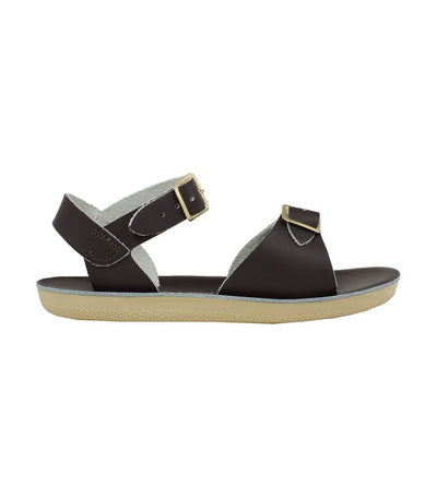 salt-water sandals kids brown surfer