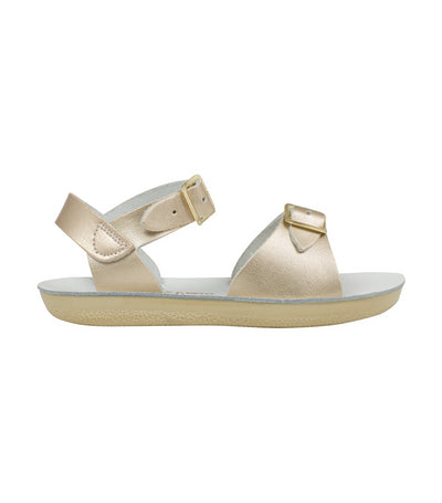 salt-water sandals kids premium gold surfer