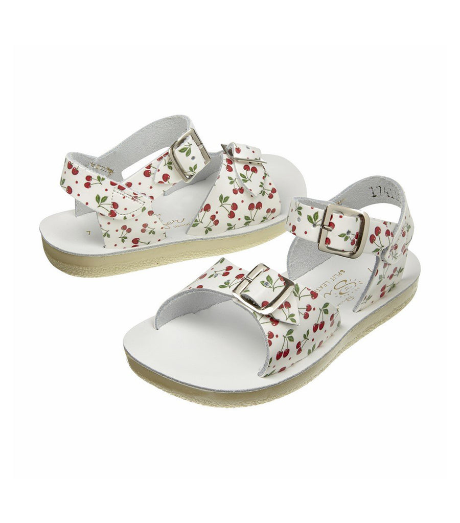 salt-water sandals kids cherry surfer premium
