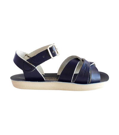 salt-water sandals kids navy swimmer