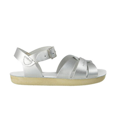 salt-water sandals kids silver swimmer premium