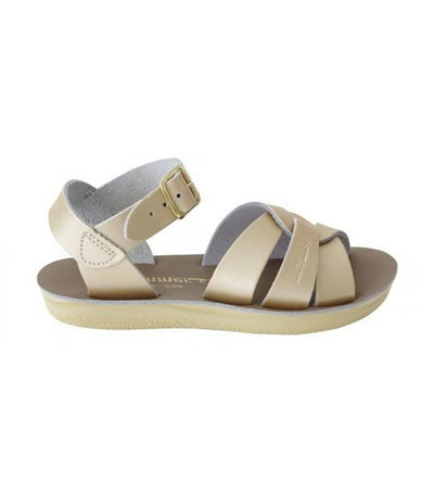 salt-water sandals kids gold swimmer premium
